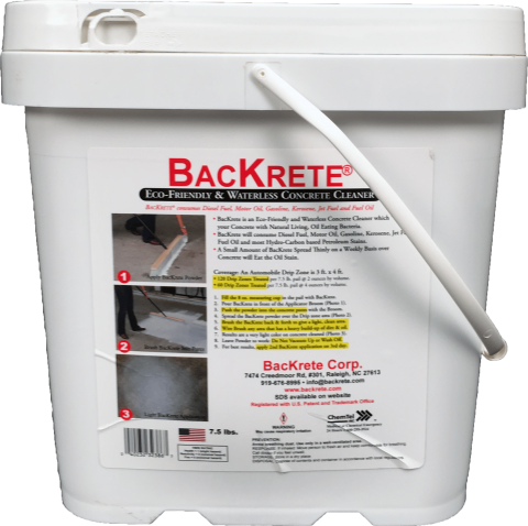 Backrete Concrete Cleaner