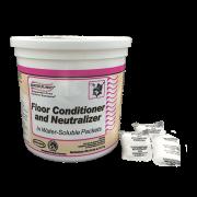 Floor conditioner and neutralizer