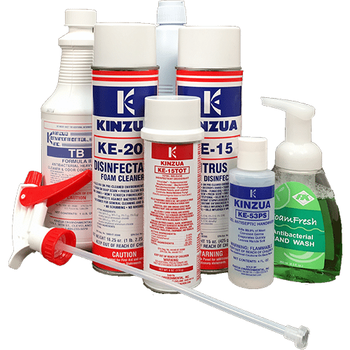 Variety pack disinfectants