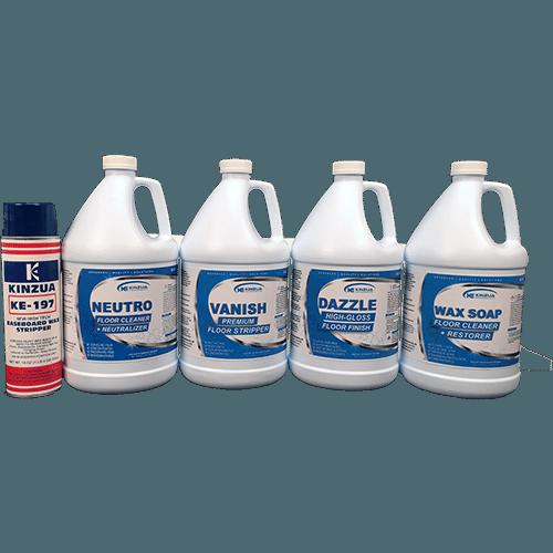Commercial floor maintenance